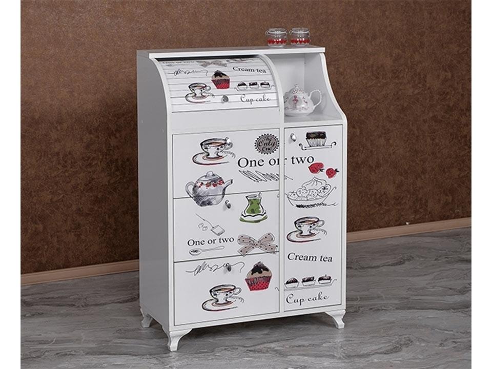 Geniş Resimli Latte Ekmeklik KM-619