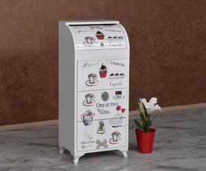 Dar Resimli Latte Ekmeklik KM-622